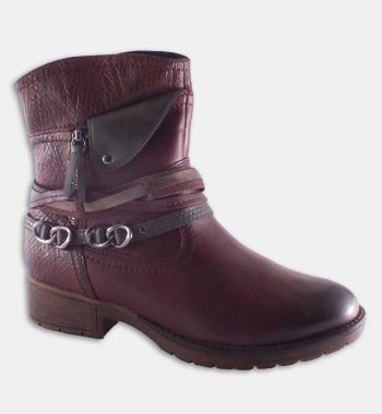 Botine bordo Jana